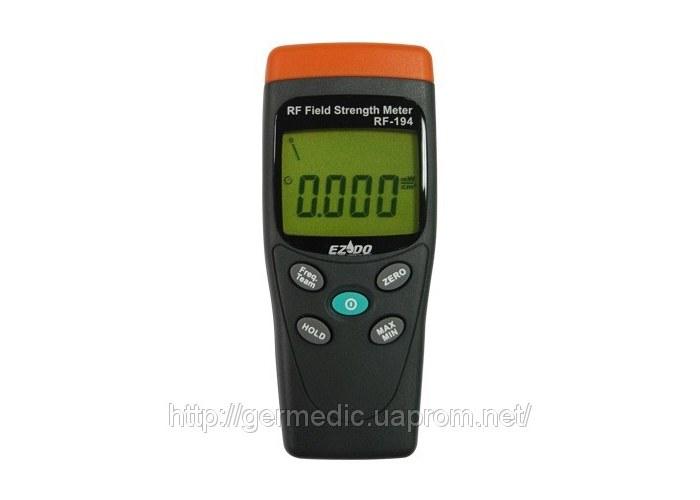 Измеритель RF-194 применяется для измерения высокочастотных электромагнитных полей от 50 МГц до 3.5 ГГц.
